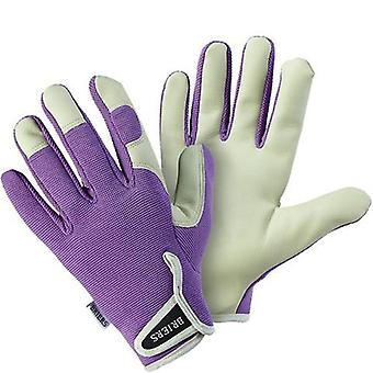 Briers Lavender Lady Gardener Soft Leather Gloves