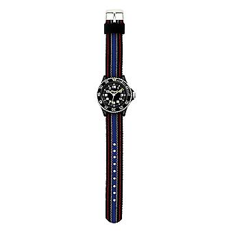 Scout Children learning clock clock The Scout Black and Blue Jungenuhr 280303011