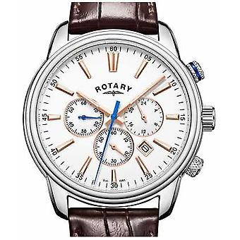Rotary Mens Monaco Sports Chronograph White GS05083/06 Watch