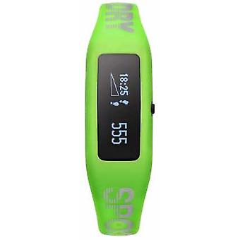 Superdry Unisex Fitness Tracker Green Silicone Strap SYG202N Watch