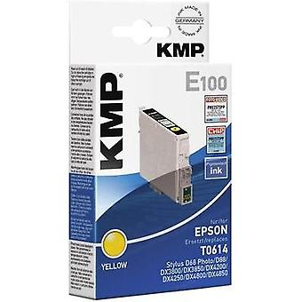 KMP Ink replaced Epson T0614 Compatible Yellow E100 1603,0009