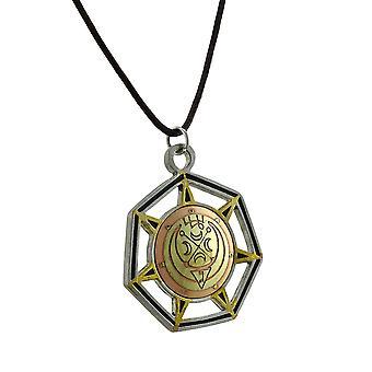 Gabriel, Angelo del luna medioevale Magick fascino W / collana in corda