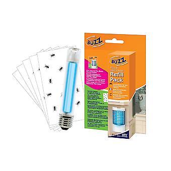 Buzz Plug-in insekt Killer Refill pakke (pakke med 6)
