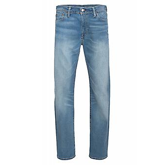 Levis 504 regular straight trousers mens jeans blue 29990-0534