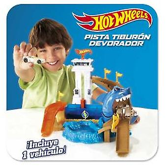 Hot Wheels Track Eater Shark City (Toys , Vehicles And Tracks , Parking And Circuits)