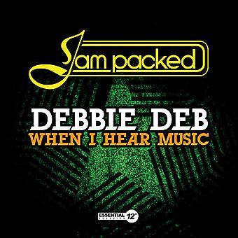Debbie Deb - cuando Estados unidos escuchar música de importación