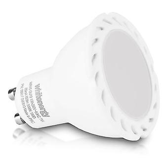 WHITENERGY LED Bulb  1x COB LED  MR16  GU10  7W 100-250V White Warm (09917)