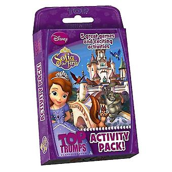 SOFIA THE FIRST | Top Trumps Activity Pack