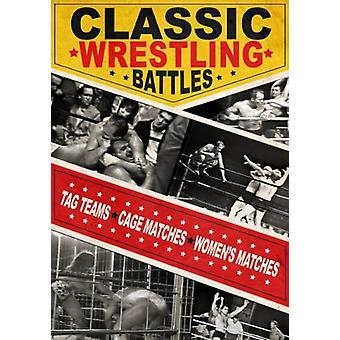 Classic Wrestling Battles [DVD] USA import
