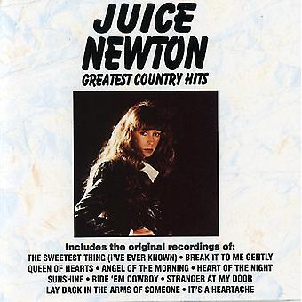 Juice Newton - Greatest Hits di paese [CD] USA importare