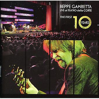 Beppe Gambetta - Live på Teatro Della Corte/First 10 år [CD] USA importen