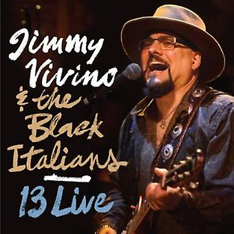 Jimmy Vivino & sort italienerne - 13 Live [CD] USA importerer
