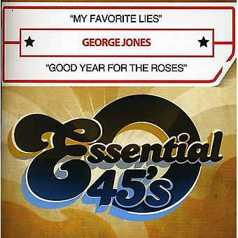 George Jones - My Favorite Lies/Good Year for the Roses [CD] USA import
