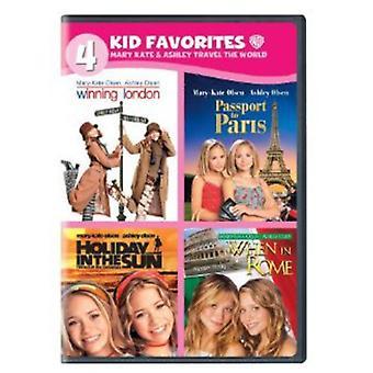 Mary-Kate & Ashley voyage du monde [DVD] USA import