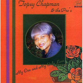 Topsy Chapman & profferne - My One & min kun Love [CD] USA importerer