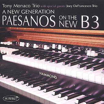 Monaco/Defrancesco - New Generation-Paesanos on the New B3 [CD] USA import