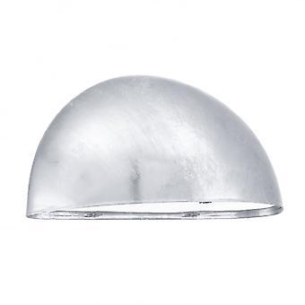 Eglo Lepus 1 Light Modern Outdoor Wall Light Galvanised Steel An