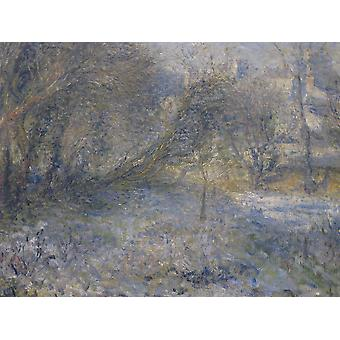 Pierre Auguste Renoir - Misty Forest Poster Print Giclee