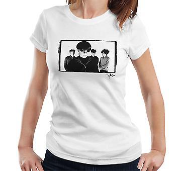 Jesus And Mary Chain Band Shot Women's T-Shirt