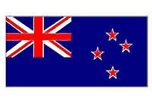 New Zealand Flag 5ft x 3ft With Eyelets For Hanging