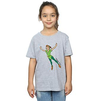 Disney Girls Peter Pan Classic Flying Peter T-Shirt
