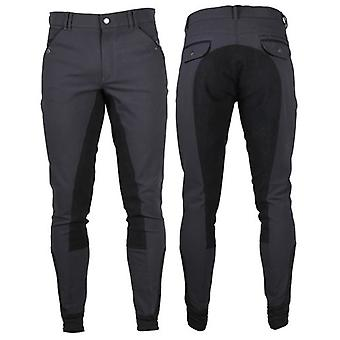 QHP Jack trousers with full gray reinforcement