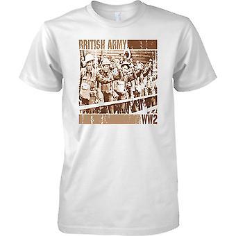 Soldati della British Army WW2 Pop Art Design - Mens T-Shirt
