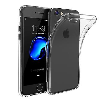 Transparent Clear Soft TPU Case for iPhone 6 6S 7 7S Gel Cover Screen Protector