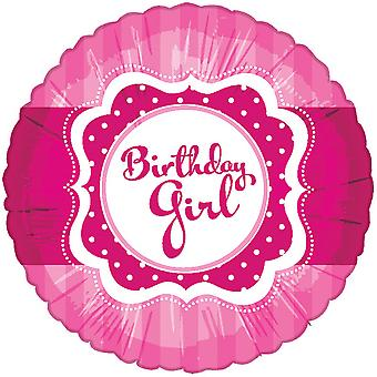 Creative Party Perfectly Pink Birthday Girl Foil Balloon
