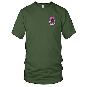 US Army - 318th Medical Battalion Embroidered Patch - Mens T Shirt