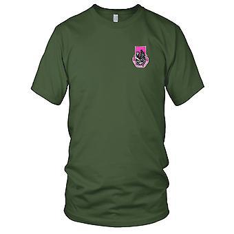 US Armee - 318th Sanitätsbataillons gestickt Patch - Herren-T-Shirt
