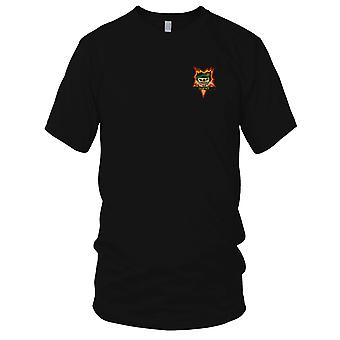 MACV-SOG Special Forces Group Tam Ky - Vietnam War Unit Insignia Embroidered Patch - Ladies T Shirt