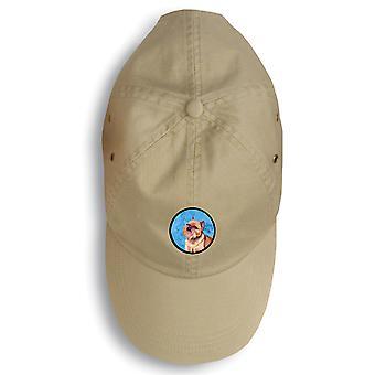 Carolines schatten LH9359BU-156 Brussels Griffon Baseballcap