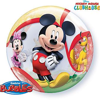 22 pulgadas de qualatex Disney Mickey Mouse Clubhouse burbuja solo globo