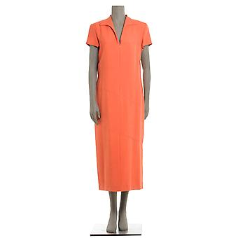 Botondi ladies 122821186 Orange silk dress