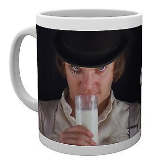 Tazza del latte di Alex arancione di un orologio
