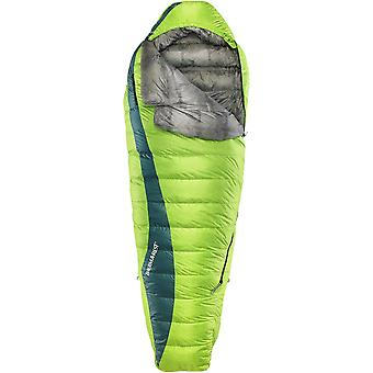 Thermarest Questar HD Down 20 Three Season Left Zip Sleeping Bag Gemini Green (Regular)