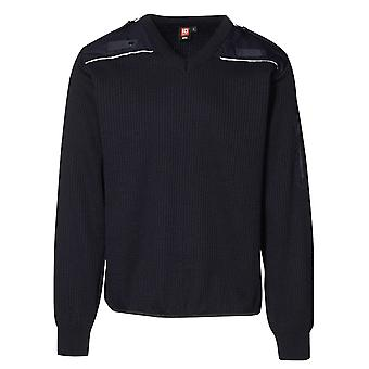 ID Mens V-Neck Uniform Pullover Jumper