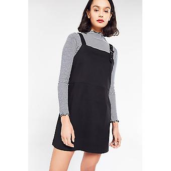 Side Party Buckle Pinafore Dress
