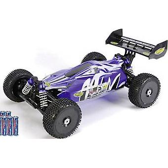 Carson Modellsport Destroyer Line BL 4S Brushless 1:8 RC model car Electric Buggy 4WD RtR 2,4 GHz