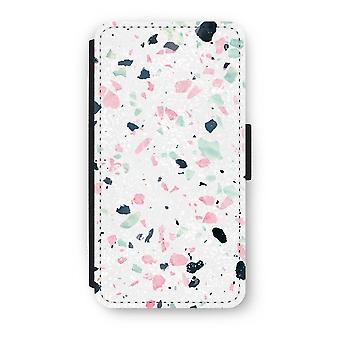 iPhone X Case Flip - Terrazzo N ° 3