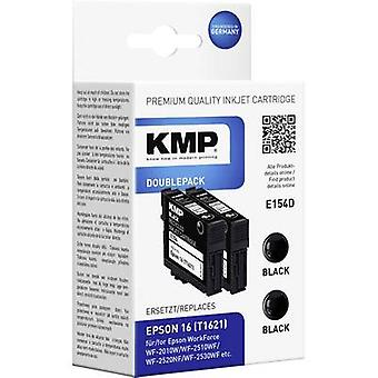 KMP Ink replaced Epson T1621, 16 Compatible Dual B