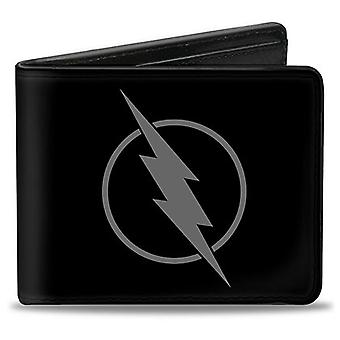 Flash omvendt Logo sort Bifold tegnebog