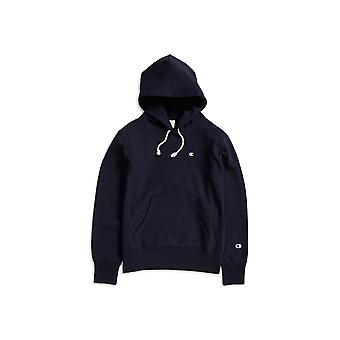 Champion Classic Reverse Weave Hoodie Navy