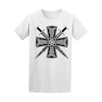 Celtic Cross Swords Men's Tee - Image by Shutterstock