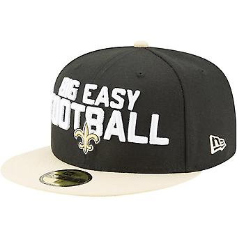 New Era 59Fifty Cap - NFL 2018 DRAFT New Orleans Saints