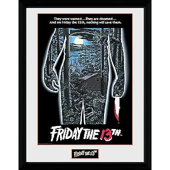 Sexta-feira 13 Poster Print de colecionador