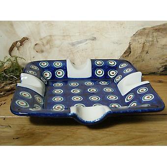Maxi ashtray, 17.5 x 17.5 cm, 3.5 cm high, tradition 10 - BSN 0666
