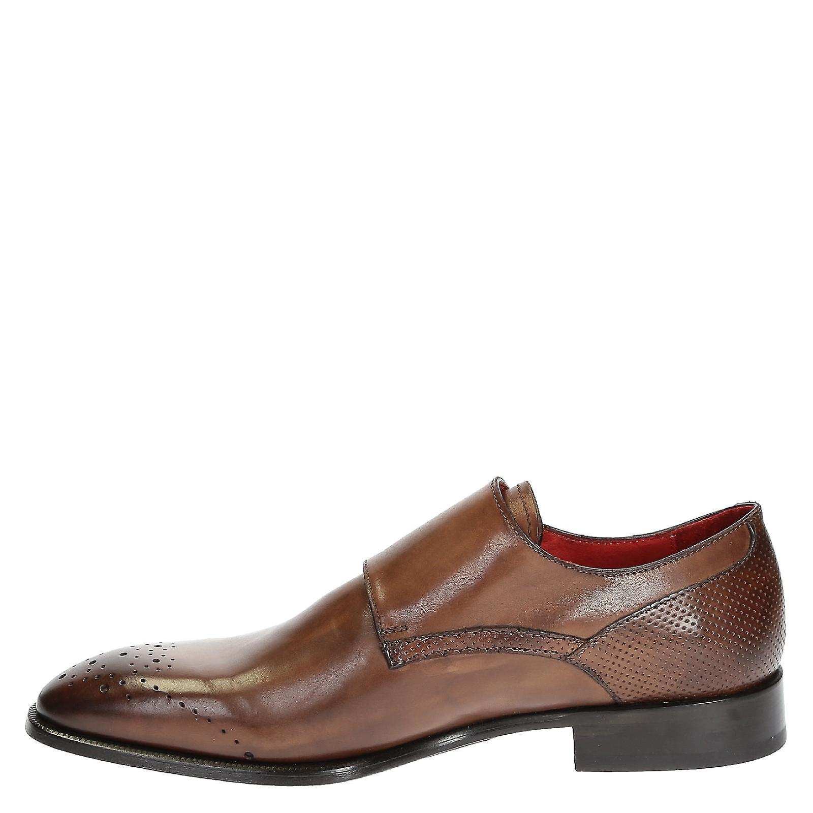 gli uomini a doppio monk cinghia scarpe in brandy brandy brandy colore   Outlet    Export    Maschio/Ragazze Scarpa    Uomo/Donne Scarpa  f23dd2
