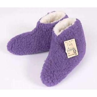Bed shoes wool purple 42/43